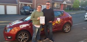 Image of driving lessons in Hastings!