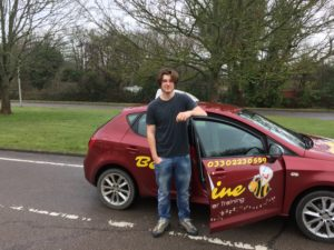 image of driving lessons in Hastings in a Manual car