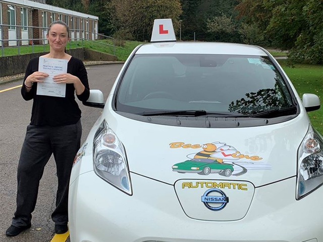hastings automatic driving lesson test pass