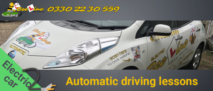 Automatic driving lessons in hastings