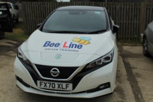 electric automatic driving school car